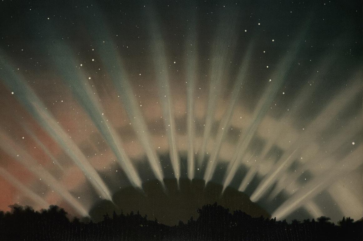 aurora borealis illustration