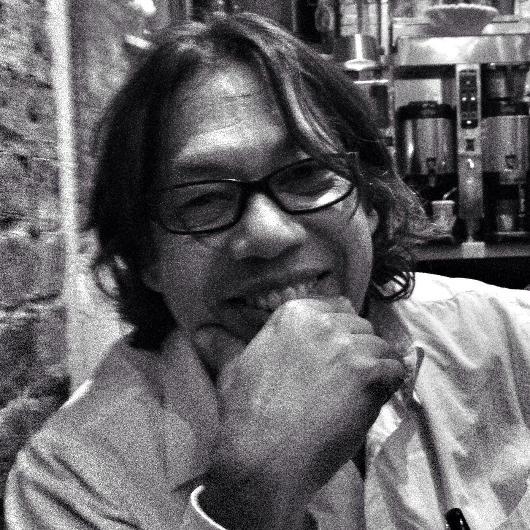 me @ Cafe Lalo in NYC