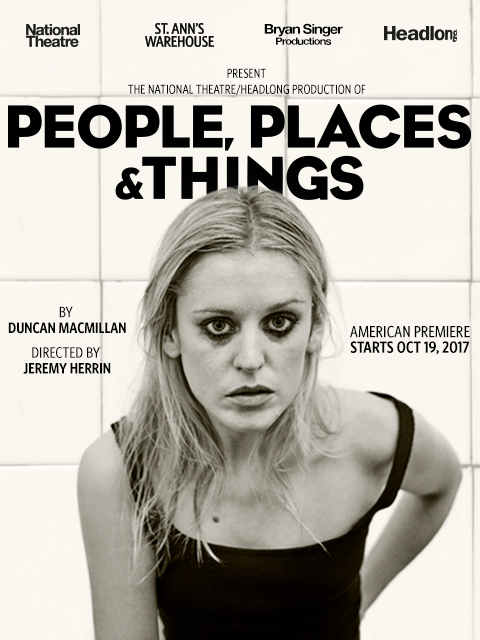 People, Places, and Things Poster