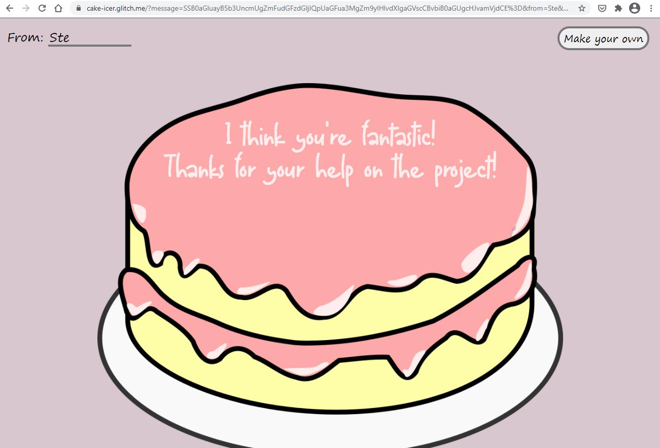 Cake share