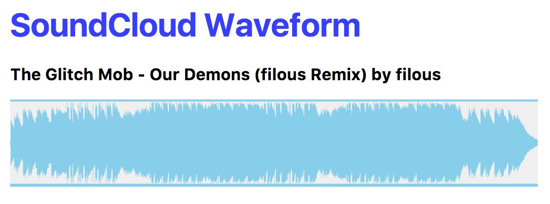 soundcloud-waveform