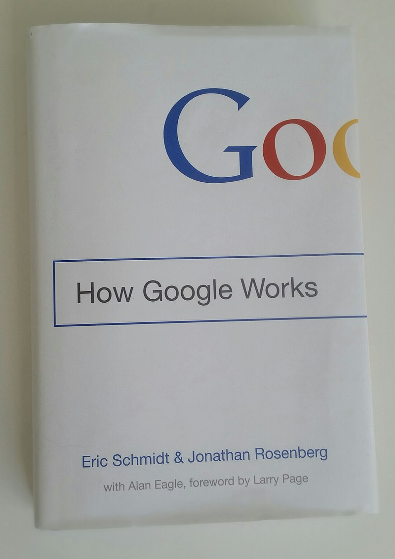 Book 'How Google Works'