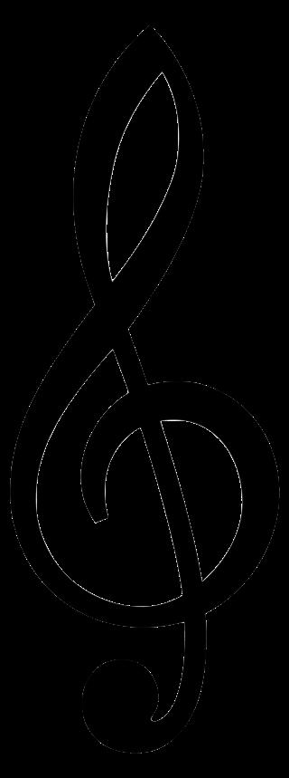 image of a treble clef