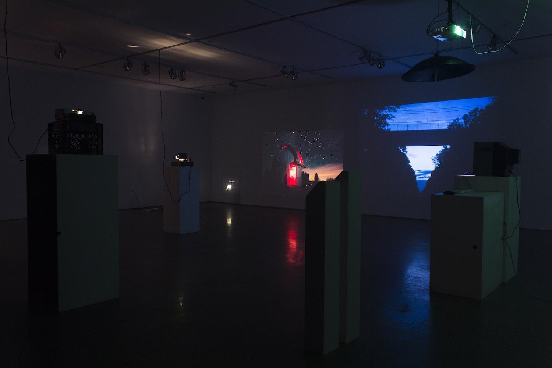 wide shot of the gallery installation (c) Alex Tomlinson (c) Richard Yee