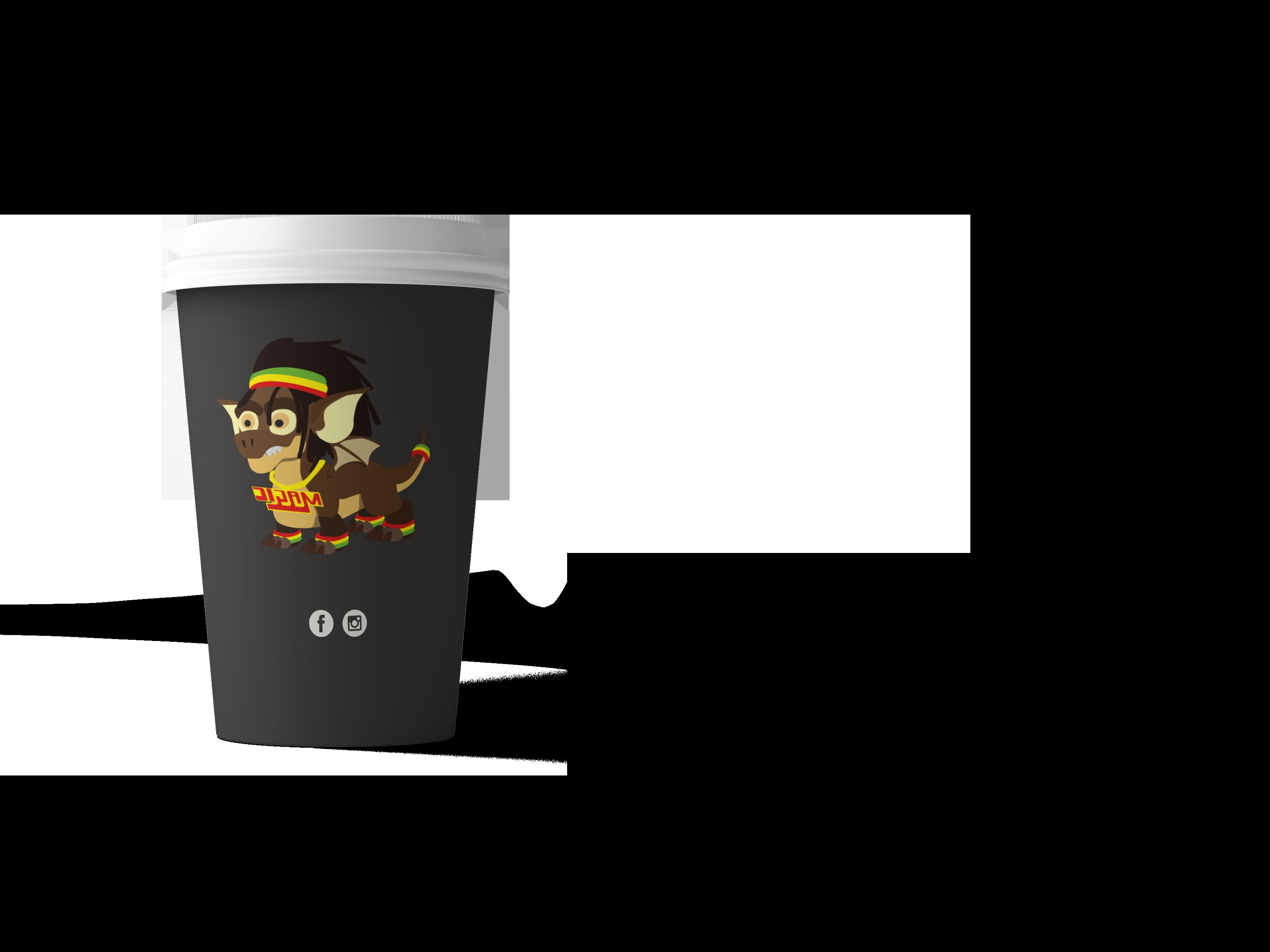 Coffeeshop Magic Koffiebeker
