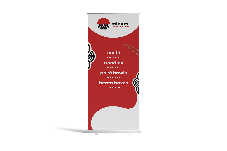 Minami Roll-up Banner