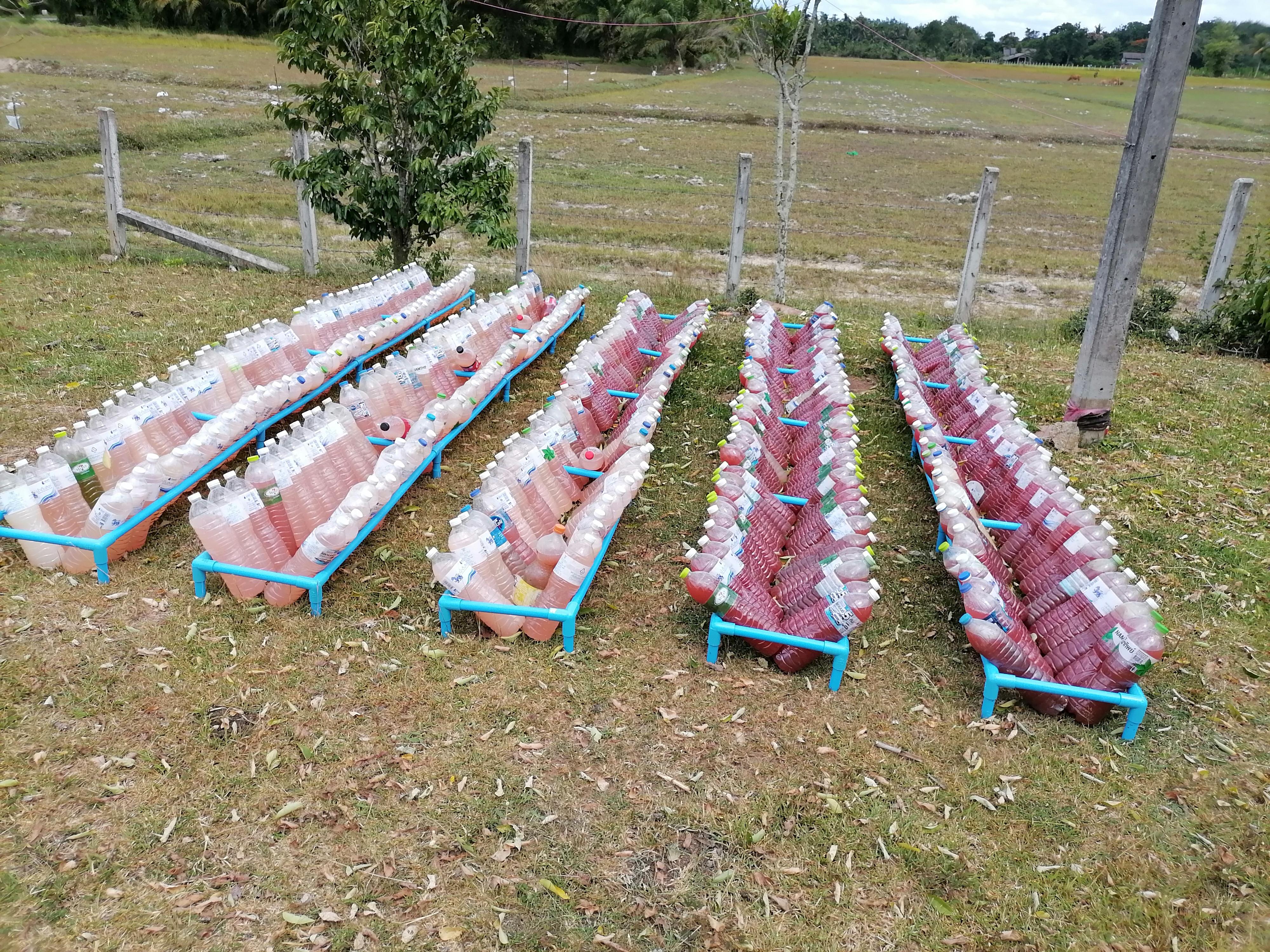 PVC Fertilizer Bottle Holder