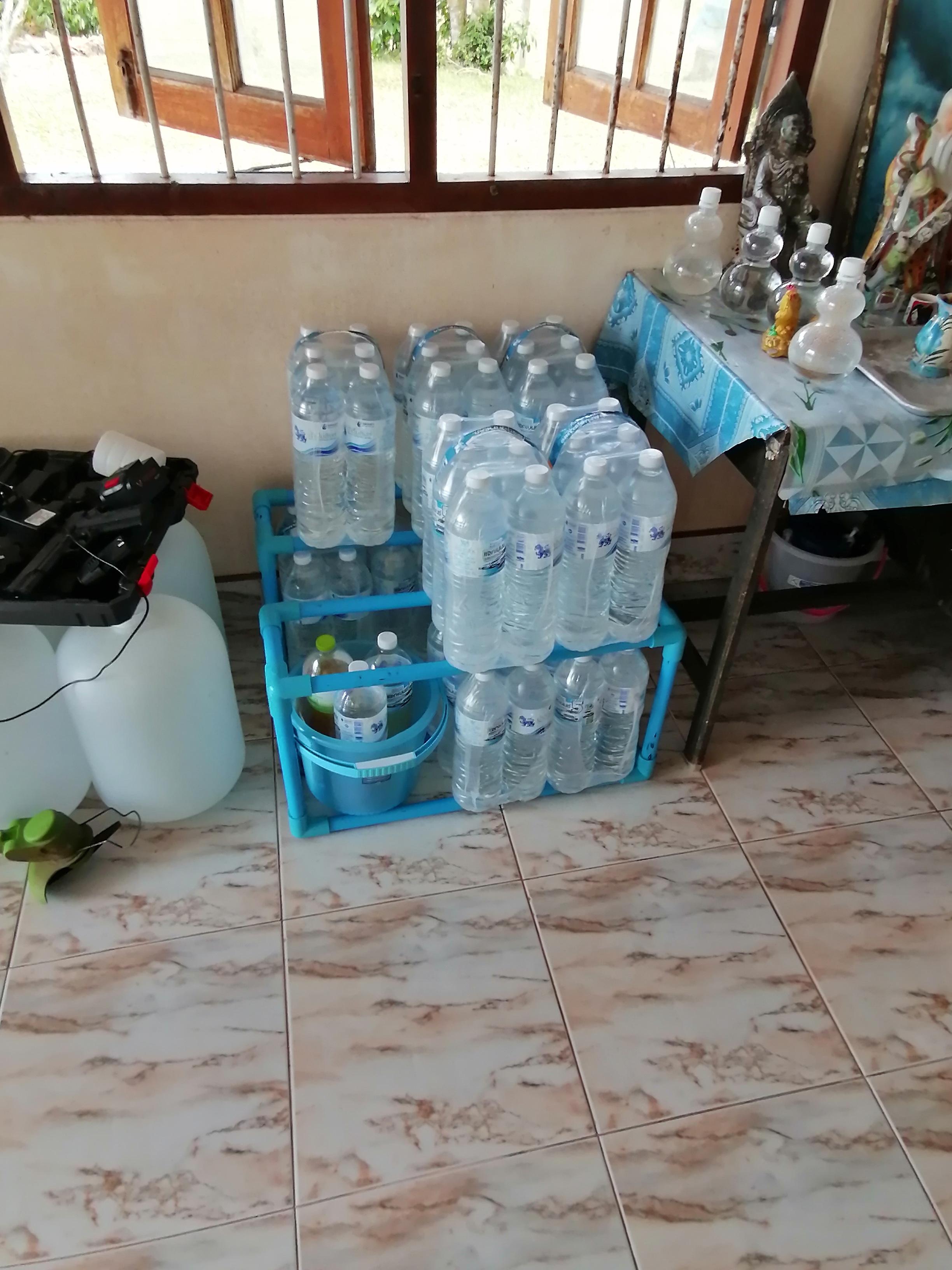 Drinking Water Shelf