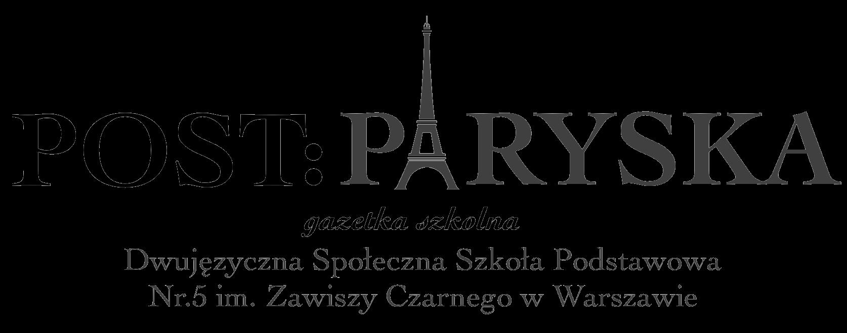 Post:Paryska - tu powinno być logo. Jeżeli widzisz ten napis, skontaktuj się z nami na adresie email: pomoc@postparyska.pl