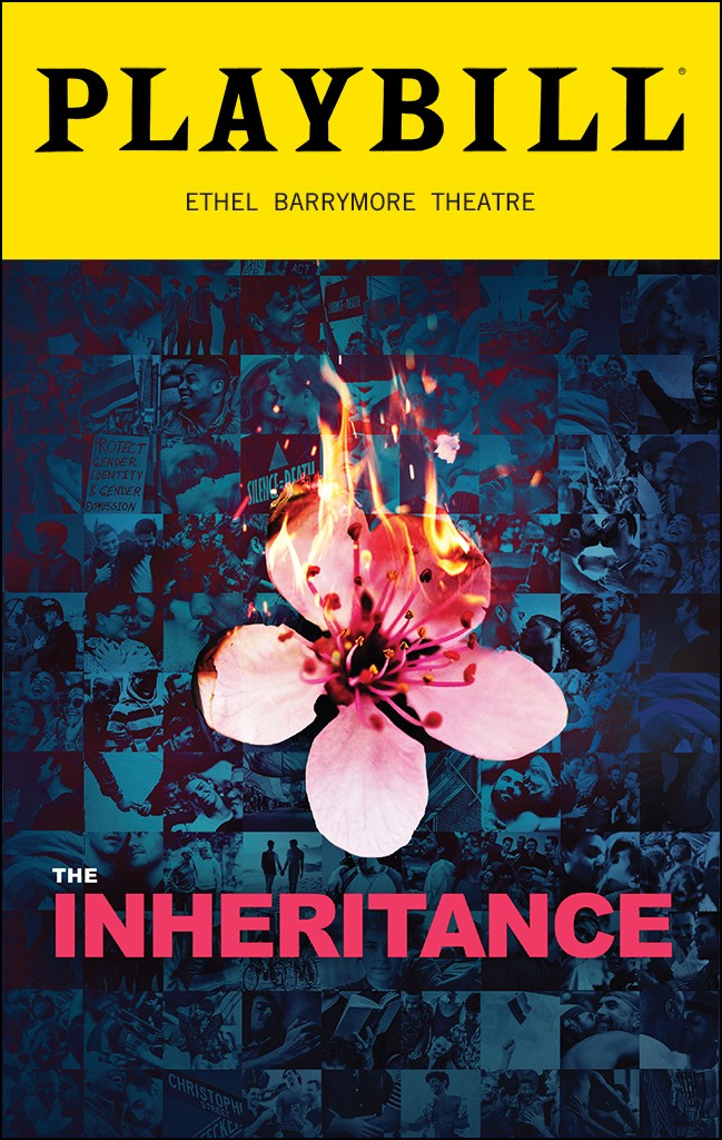 Playbill from The Inheritance