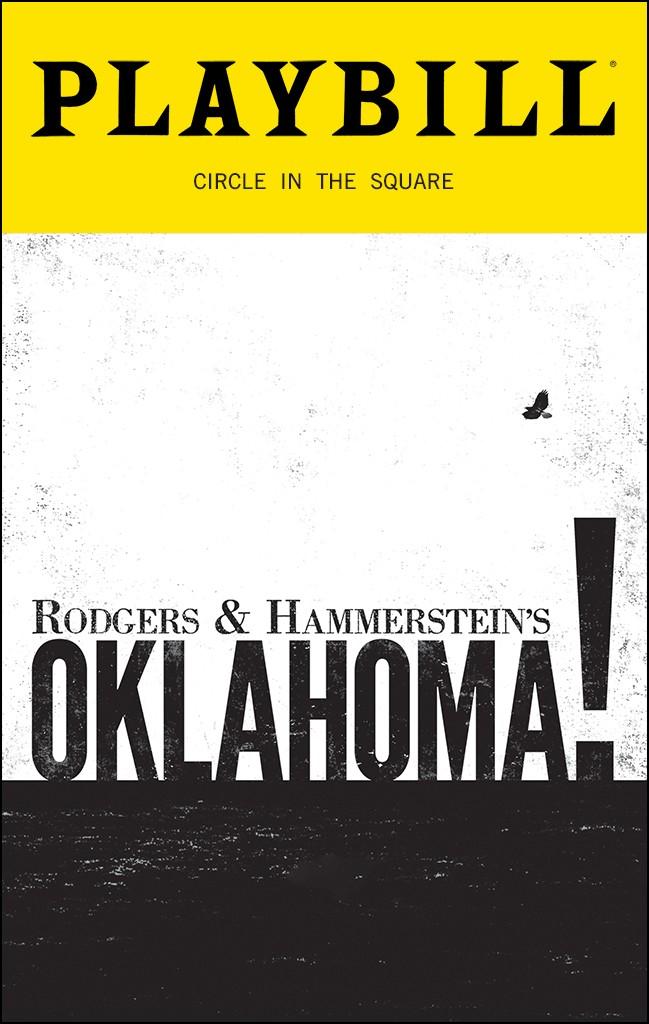 Playbill from Oklahoma!