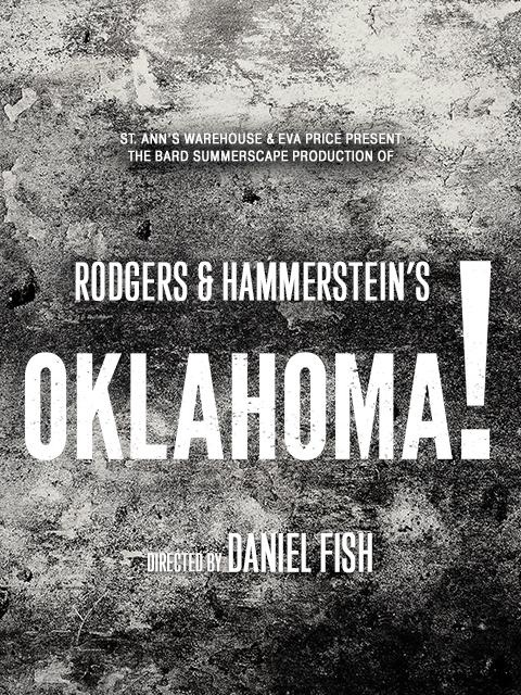 St. Ann's Warehouse program cover from Oklahoma!