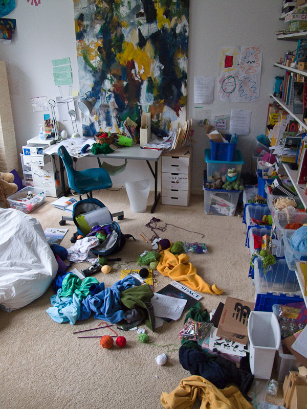 My room as a young child