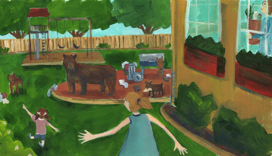 Image for Tara and the Back Yard Bear