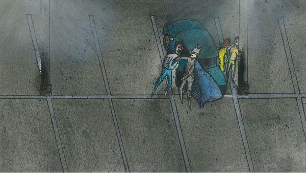 Image for Parking Lot Superhero