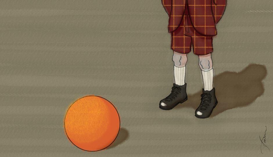 Image for The Kickball Game