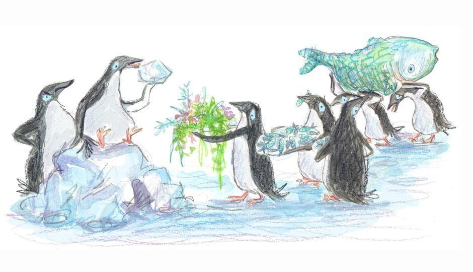 Image for The Penguin Who Loved to Crunch Ice