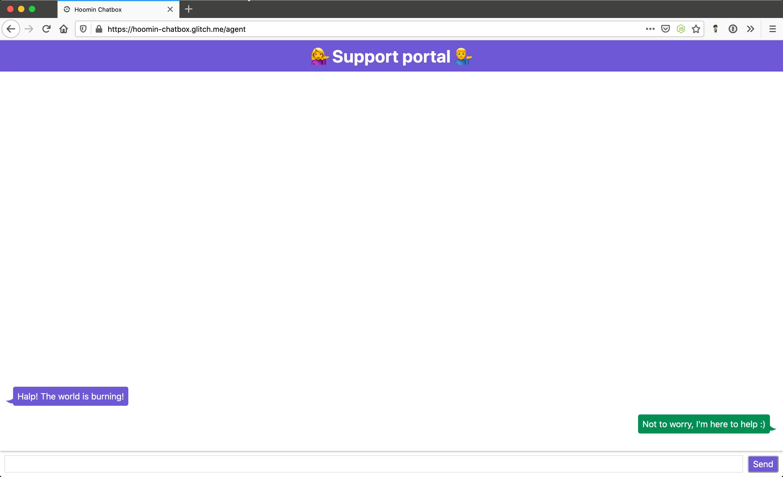 Chat portal final