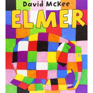 Elmer, the patchwork elephant.