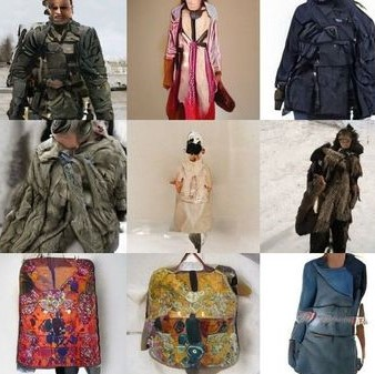 Fashion generated by an AI