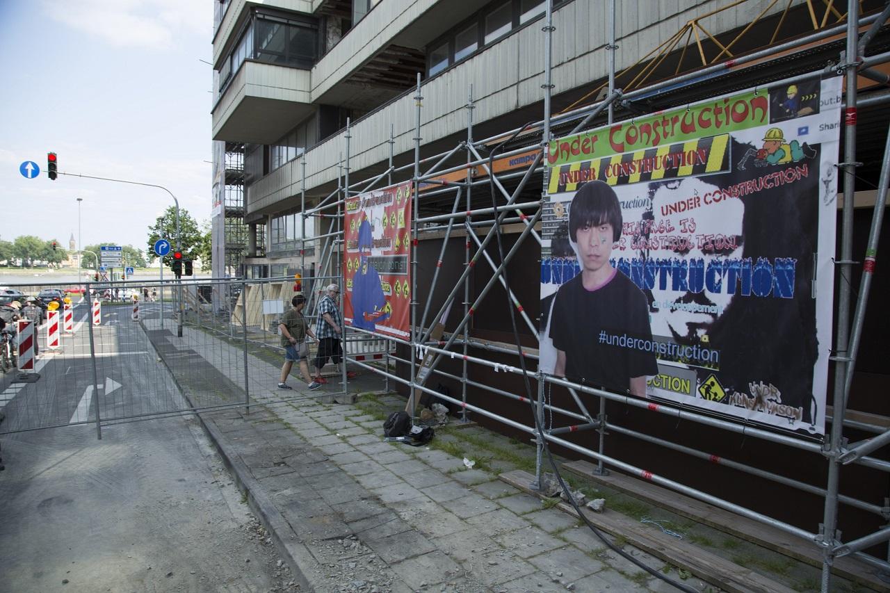 under construction exhibition