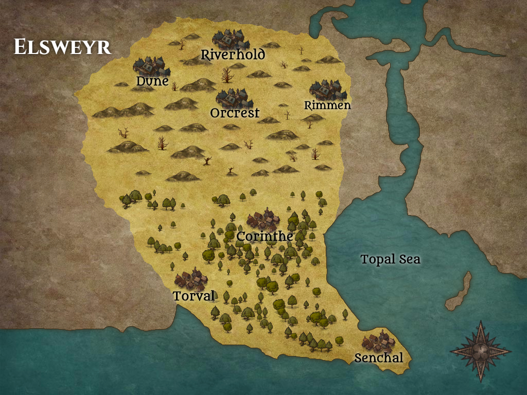 Map of Elsweyr
