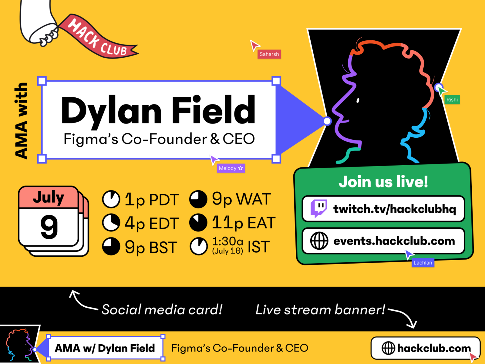 AMA with Dylan Field, Figma