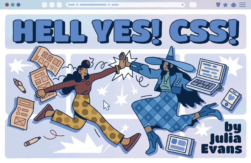 Cover for Heck Yes! CSS!