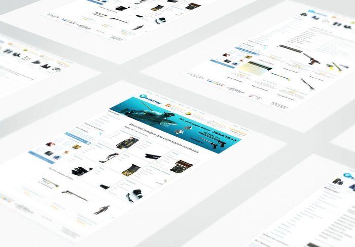 Дизайн интернет-магазина, оптимизация