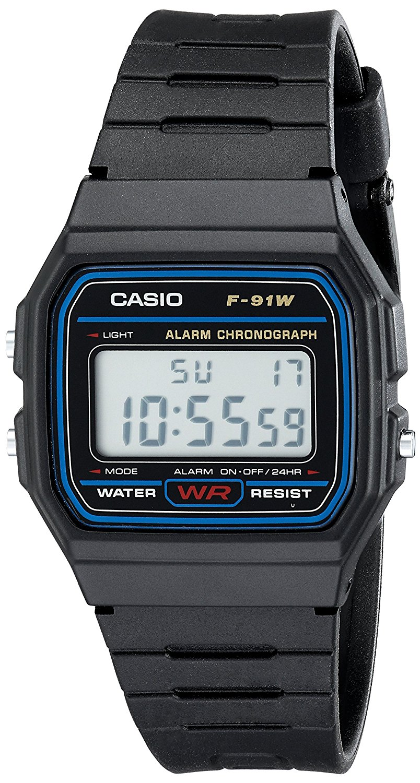 Casio F91W