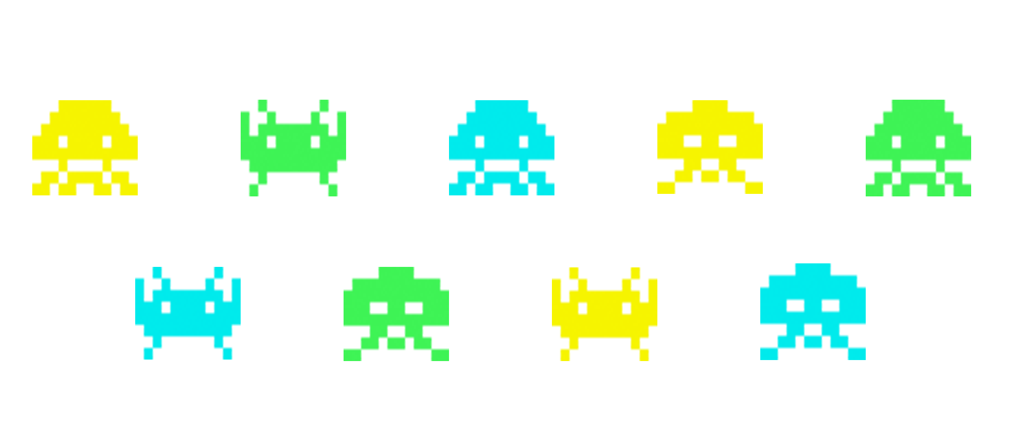 Invader avatars