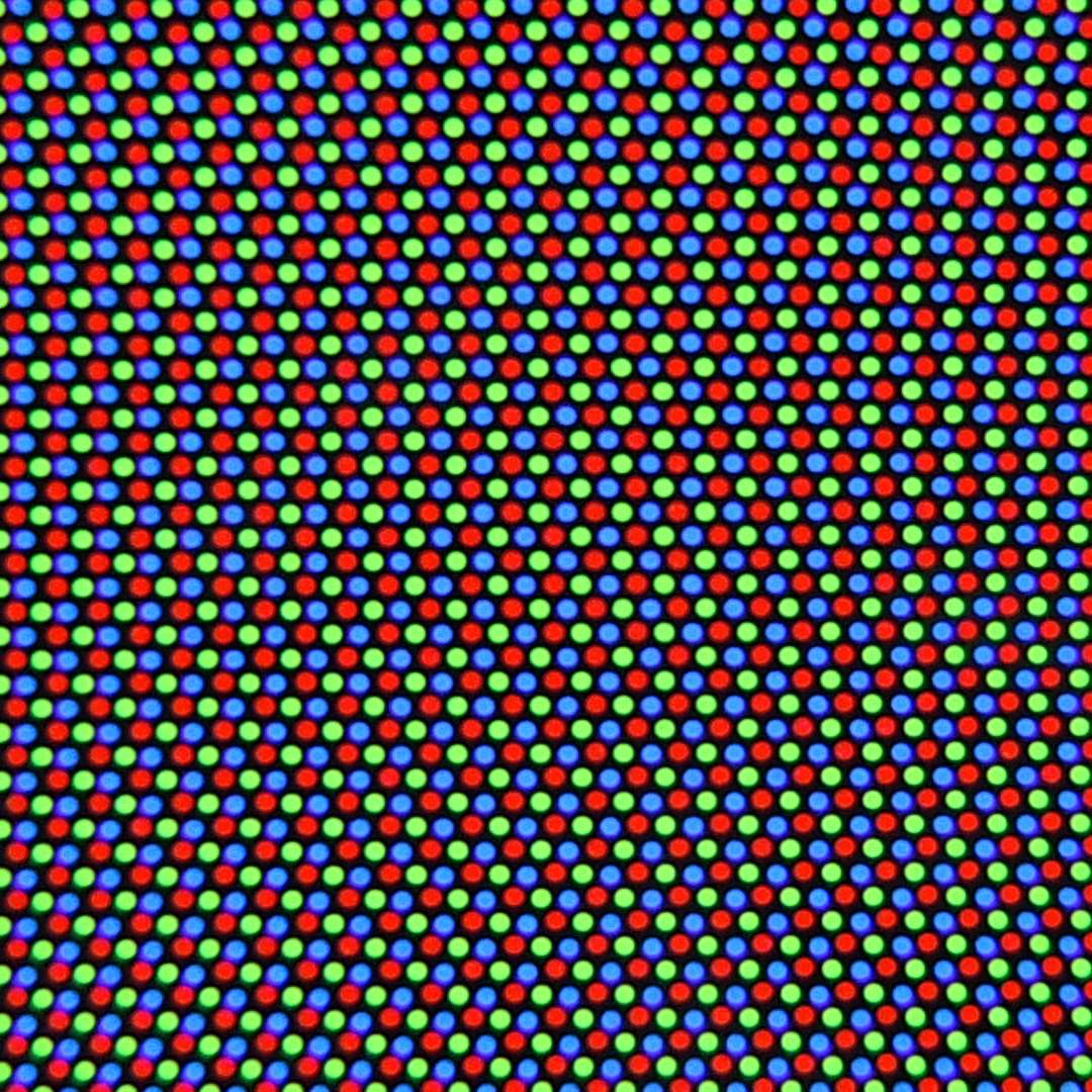 a crt zoomed in